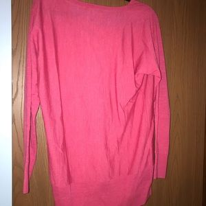 Talbots wool slouchy front sweater